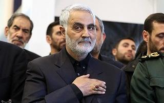 حضور سرلشکر قاسم سلیمانی در حرم امام حسین علیهالسلام و هیئات عزاداری