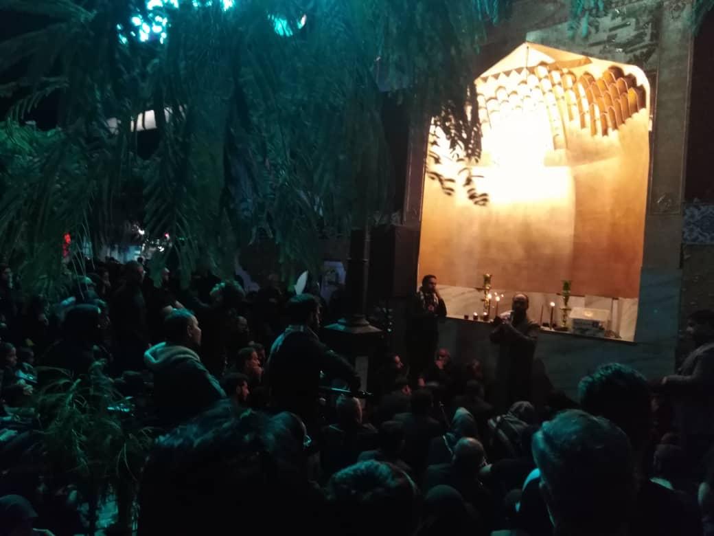 برگزاری شام غریبان عاشورای حسینی در جوار امام هشتم(ع) + تصاویر