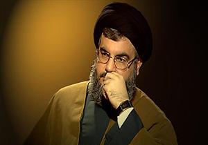 جاری شدن اشکهای سیدحسن نصرالله هنگام یادآوری مصائب حضرت عباس(ع) + فیلم