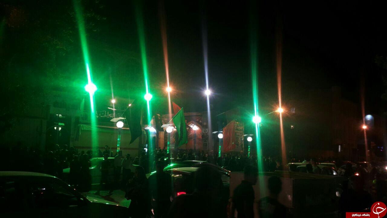 برگزاری مراسم شام غریبان در کرمانشاه