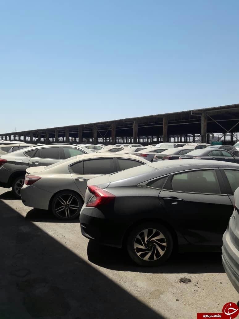 واردات خودرویهای با قدرت موتور ۲۵۰۰ سی سی آزاد یا ممنوع؟! قصه ۲۲۷ اتومبیل خارجی زندانی در اروند چه زمانی به سر میرسد؟
