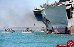 کمربند دریاییِ امن با کمک یدِ واحده/ آبهایی که با وجود سپاه و ارتش سرتاسر امنیت است + تصاویر