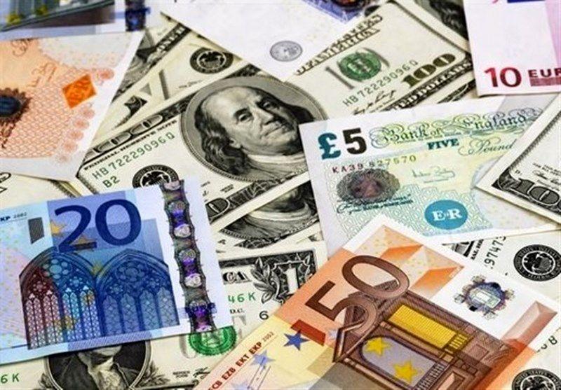 نرخ 47 ارز بین بانکی در دوم شهریور 98 /