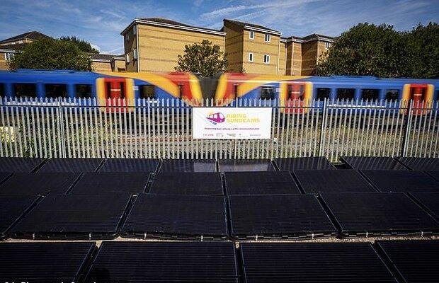 باشگاه خبرنگاران -نخستین خط راهآهن خورشیدی جهان در انگلیس فعال شد