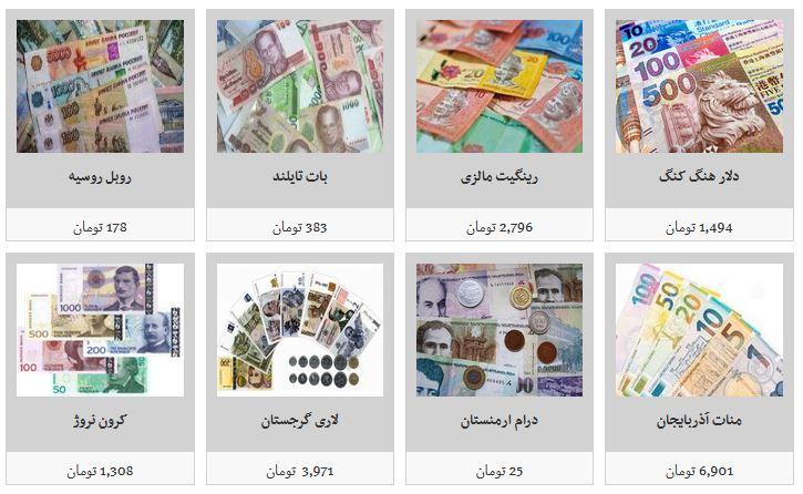جزئیات نرخ ارز در ۹۸/۶/۲/ دلار به ۱۱ هزار و ۶۵۰ تومان رسید