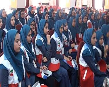 برگزاری اردو تیمهای دادرس جمعیت هلال احمر در همدان