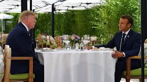 مکرون جزئیات طرح کاهش تنشهای ایران و آمریکا را برای ترhمپ تشریح کرد