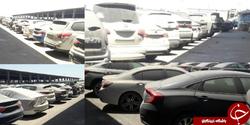 اصرار در ترخیص ۲۲۷ خودروی سفارش شرکت آمریکایی در منطقه آزاد اروند/ آیا راه برای دور زدن یک ممنوعیت باز می شود؟ + تصاویر