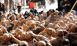 نمایش خاکیترین آیین عاشورایی در کردستان
