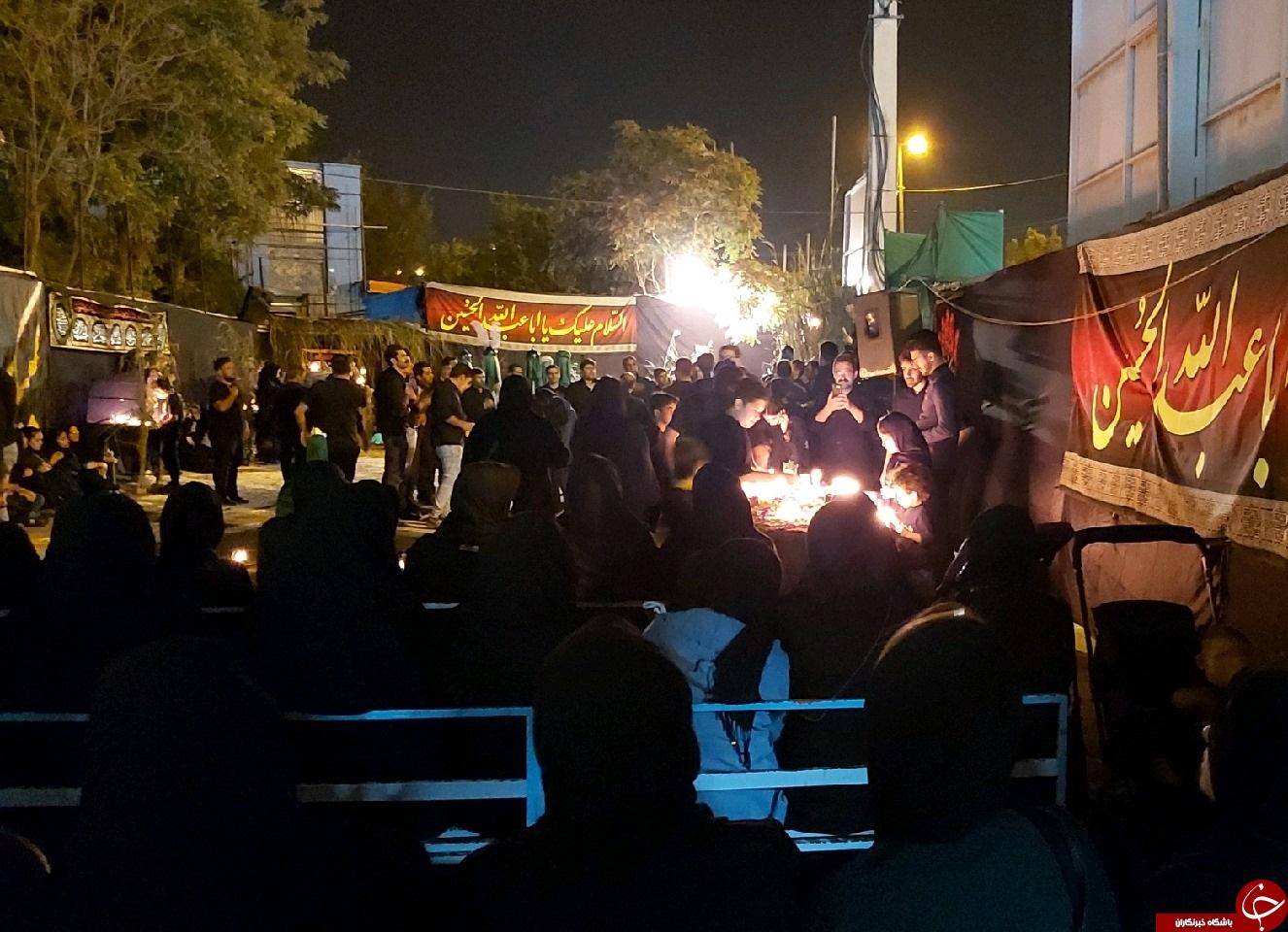 سوگواری مردم استان مرکزی برای غربت شهیدان و اسیران کربلا