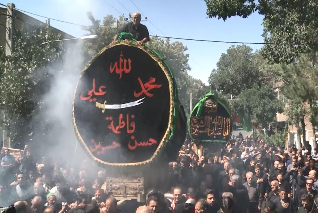آئین کهن نخل گردانی در شهرهای استان مرکزی