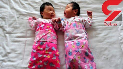 فروش ۲ نوزاد به خاطر خرید موبایل / مادر دستگیر شد + عکس