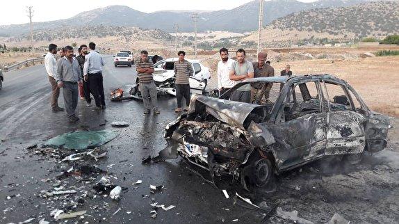 باشگاه خبرنگاران -حادثه در کمربندی یاسوج/ ۳ نفر در آتش سوختند +تصاویر