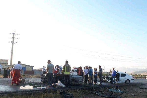 فوت ۹۳ نفر در تصادفات پنج ماهه سال جاری کهگیلویه و بویراحد