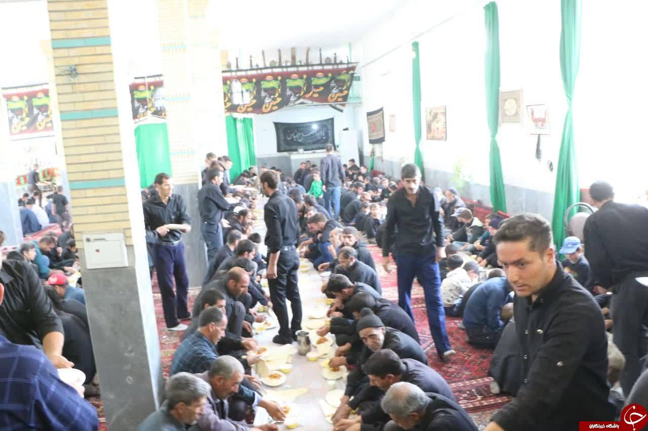 اطعام ۱۵ هزار عزادار زنجانی در تاسوعا و عاشورای حسینی