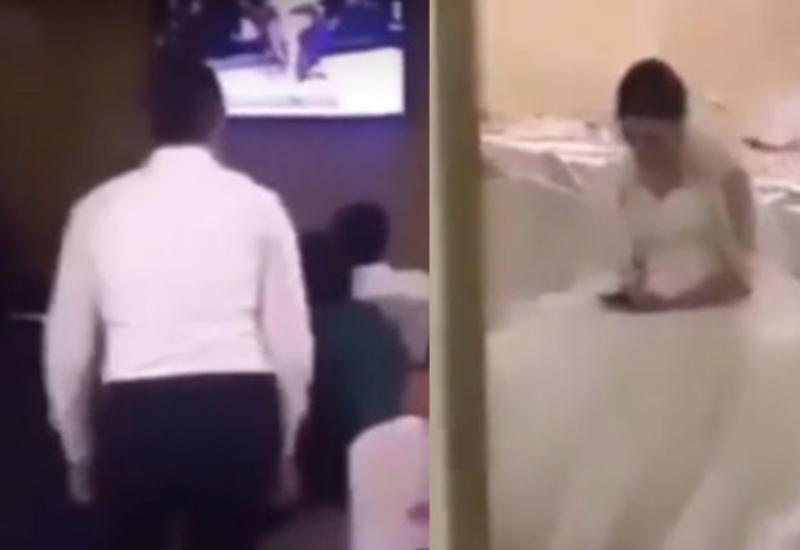 اقدام خودخواهانه داماد در شب عروسی+فیلم