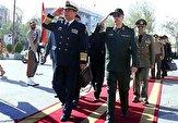 باشگاه خبرنگاران -استقبال رسمی ژنرال لی زوا چنگ از سرلشکر باقری