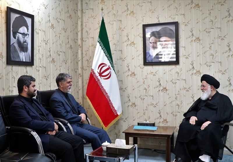 دیدار وزیر فرهنگ و ارشاد اسلامی با آیت الله علم الهدی در مشهد