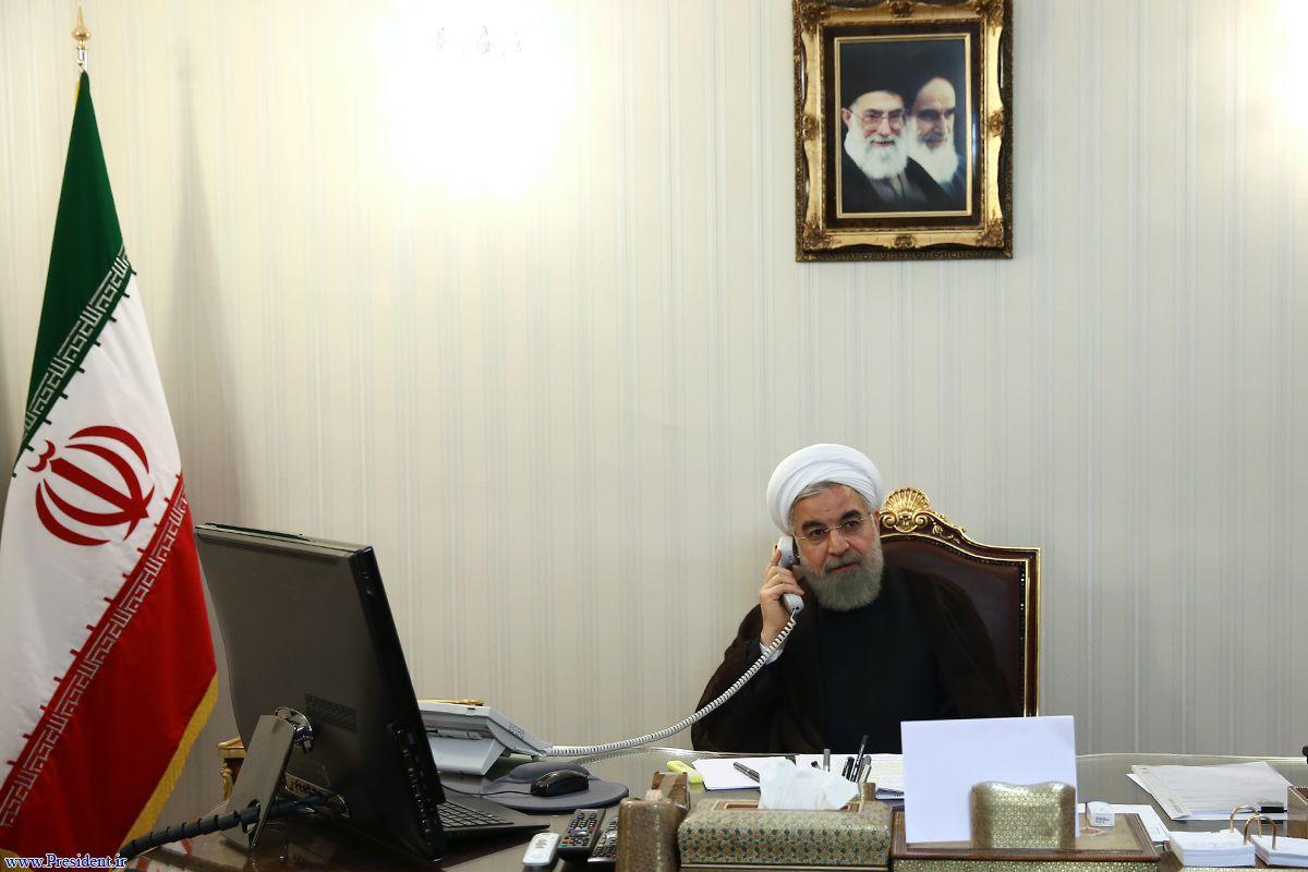 روحانی: جلسه ایران و ۵+۱ تنها زمانی امکانپذیر است که تحریمها برداشته شود/ مکرون: فرانسه به تلاش برای اجرای مفاد برجام تفاهم ادامه میدهد