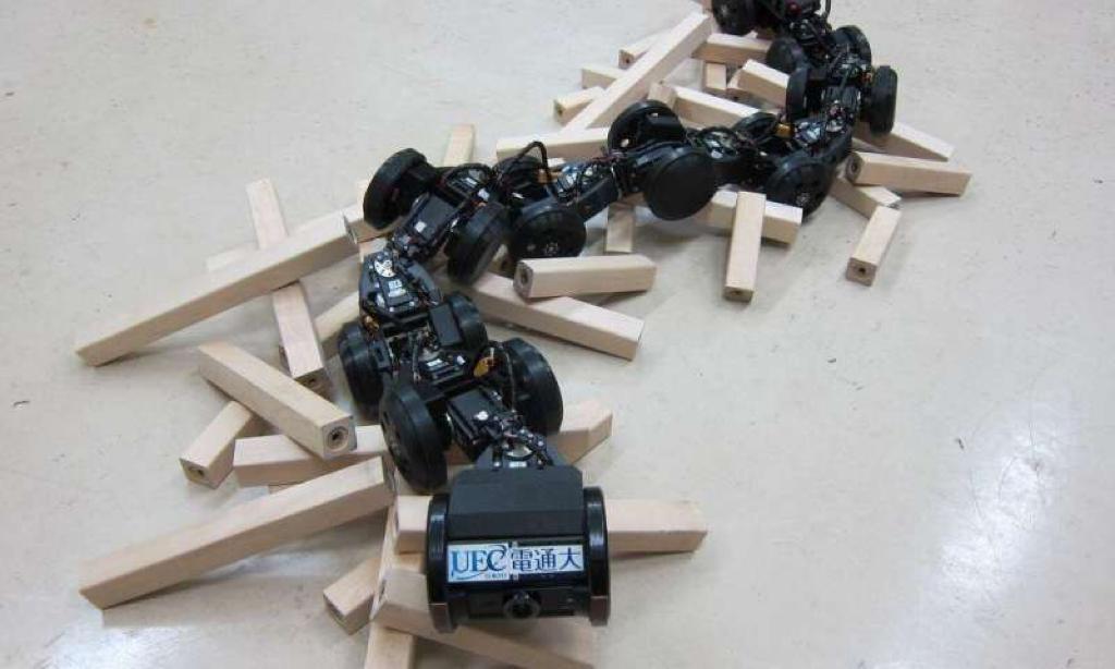 ساخت مارهای رباتیک امدادگر