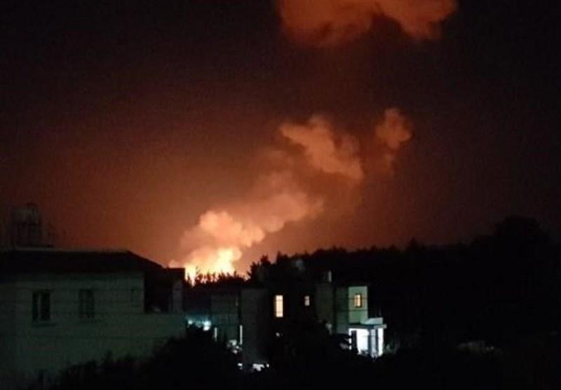 انفجار زرادخانه نظامی شمال قبرس را لرزاند