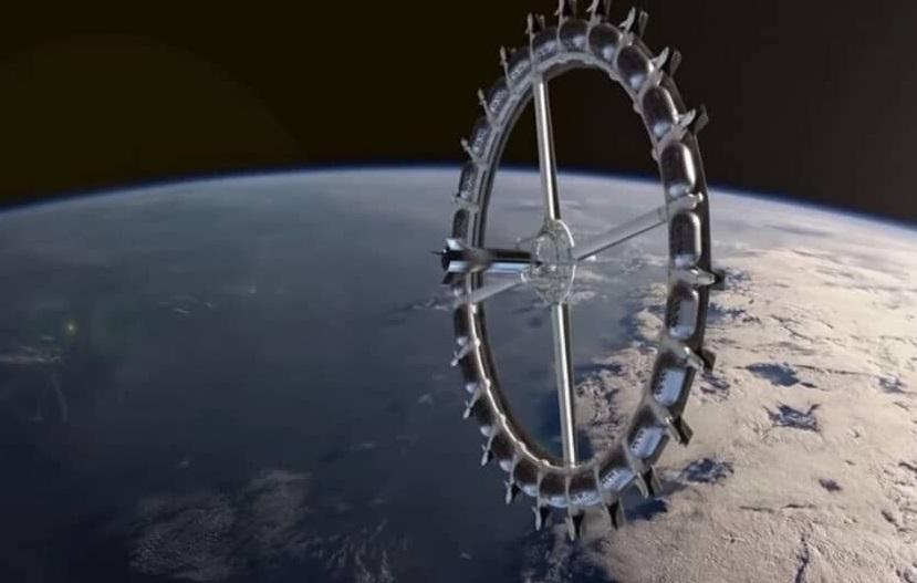 جزئیات ساخت نخستین هتل فضایی