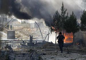 وقوع انفجار مقابل مقر ارتش افغانستان در کابل