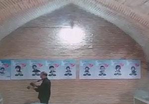 کاروان عشق و مراسم شبیهخوانی در آران و بیدگل/ هیئت عزاداران سینهزنی در شاهرود + فیلم و تصاویر