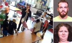 اقدام وحشیانه مربی با دختر خردسال در کلاس + فیلم