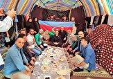 باشگاه خبرنگاران -آمادهسازی موکب شهدای کهگیلویه برای استقبال از زائران اربعین