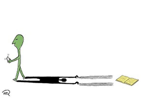 باشگاه خبرنگاران -ابراز تأسف کارتونیست جوان از تعطیلی دوسالانه کاریکاتور تهران/ هدف از ترسیم کاریکاتور یک شخص معروف چیست؟