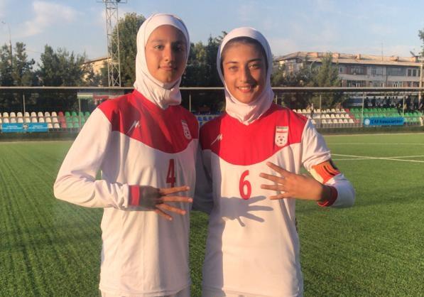 اولین پیروزی تیم ملی فوتبال نوجوانان دختر در تورنمنت کافا