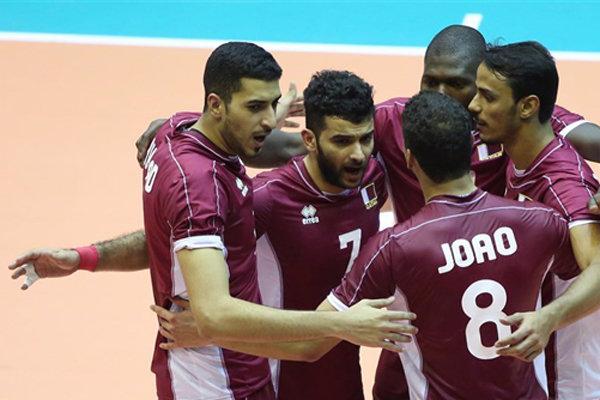 تیم ملی والیبال ایران - قطر / عنابی پوشان چند ملیتی، دومین حریف بلند قامتان در تهران