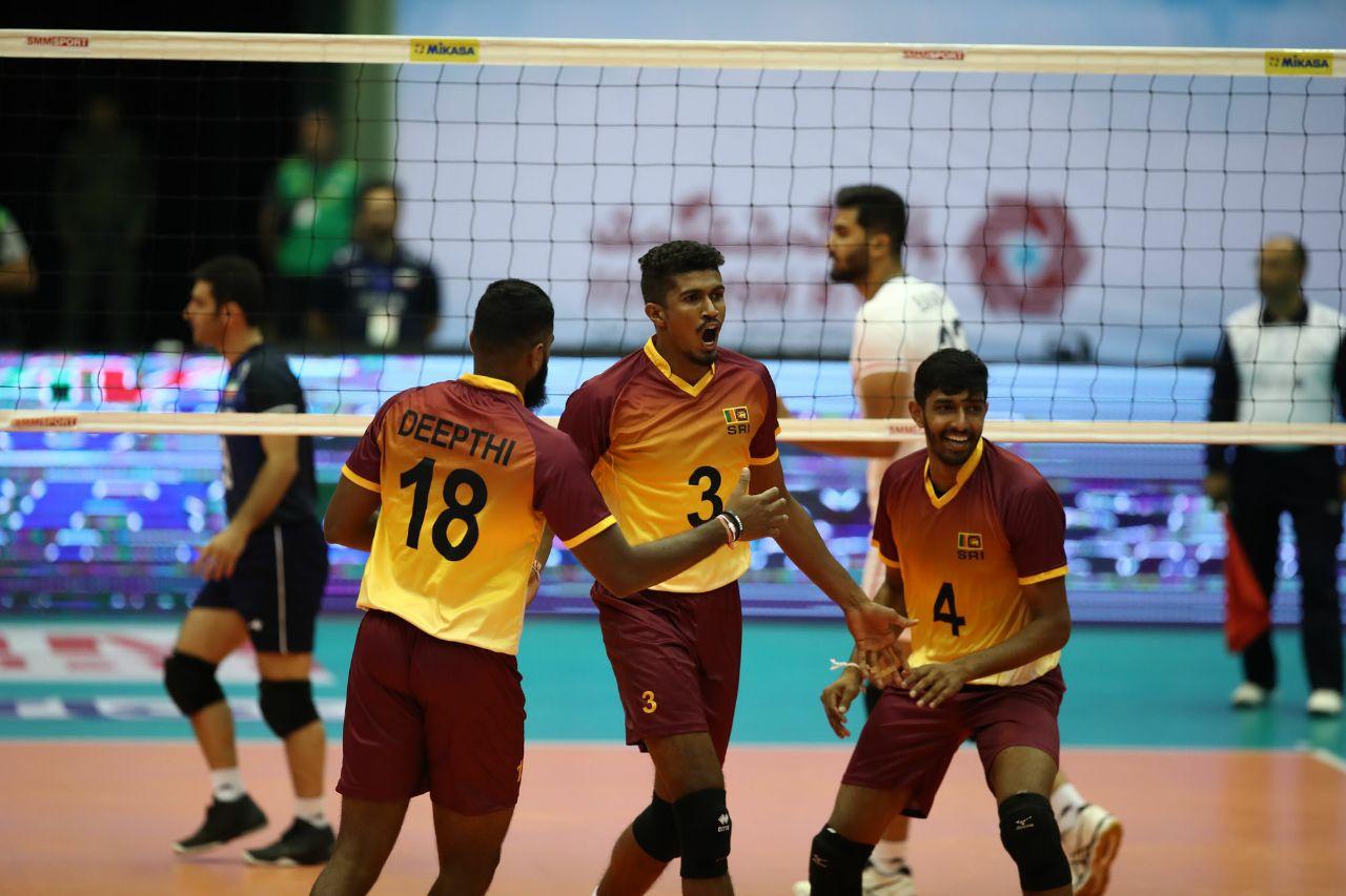 تیم ملی والیبال ایران ۳ - سریلانکا ۰ / پیروزی آسان شاگردان کولاکوویچ در گام نخست