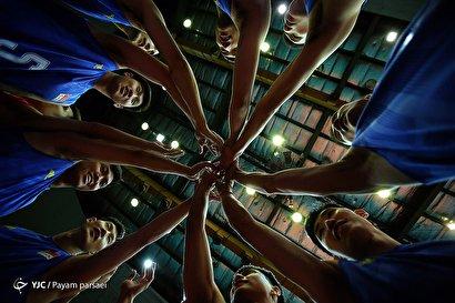 روز اول مسابقات والیبال قهرمانی آسیا