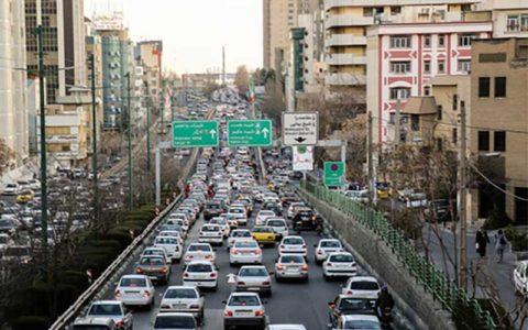 باشگاه خبرنگاران -ترافیک صبحگاهی در بزرگراههای حکیم، نواب و همت