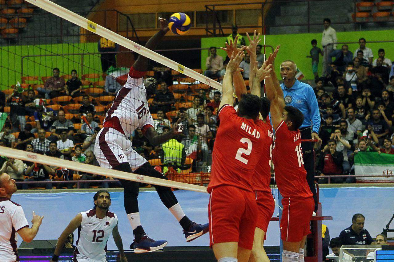 تیم ملی والیبال ایران ۳ - قطر صفر/ برد آسان شاگردان کولاکوویچ برابر قطر