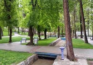 افتتاح یاآغاز عملیات اجرای ماهانه یک پارک در هر منطقه همدان
