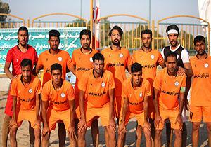 جایگاه ششم برای تیم فوتبال ساحلی شهرداری بندرعباس