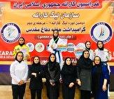 باشگاه خبرنگاران -بانوی کردستانی بر سکوی نخست رقابتهای کاراته وان کشور ایستاد