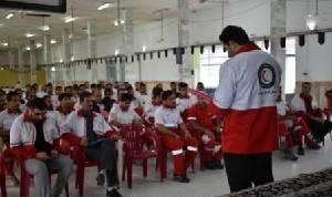 آموزش مهارتی ویژه تیمهای واکنش سریع کشور در لنگرود
