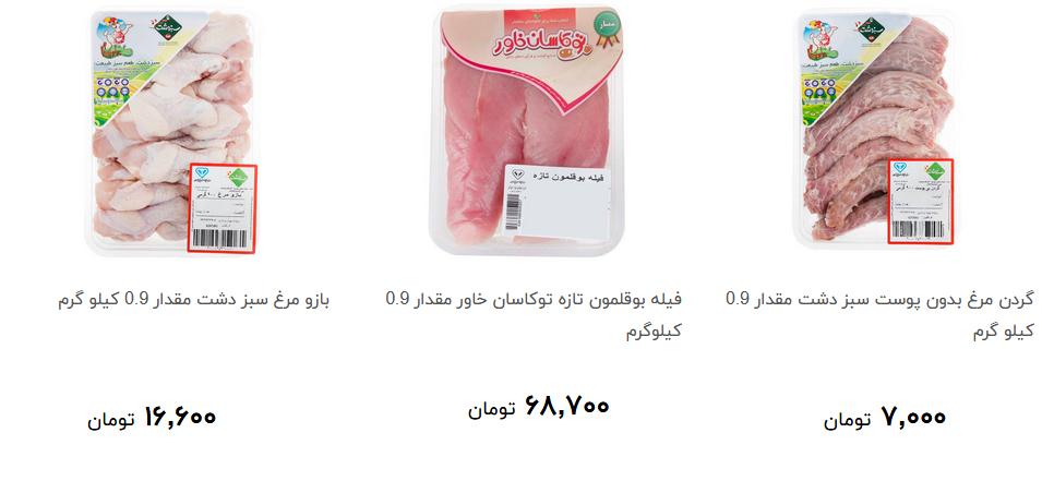 بهای مرغ بسته بندی در فروشگاه ها چقدر است؟ + قیمت