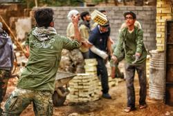 اعزام آخرین گروه جهادی دانشجویان خراسان رضوی به روداب