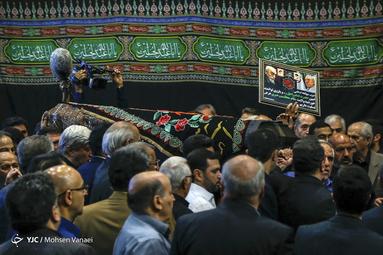 برگزاری مراسم تشییع عسگراولادی در مسجد فرشته تهران + فیلم