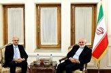 باشگاه خبرنگاران -قائم مقام وزیر امور خارجه هند با ظریف دیدار کرد