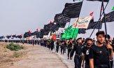 باشگاه خبرنگاران -سیاه پوش شدن مسیر زائران اربعین حسینی