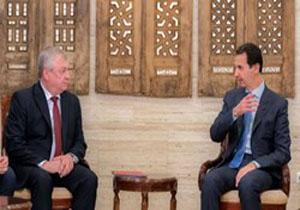 فرستاده ویژه پوتین با بشار اسد دیدار کرد