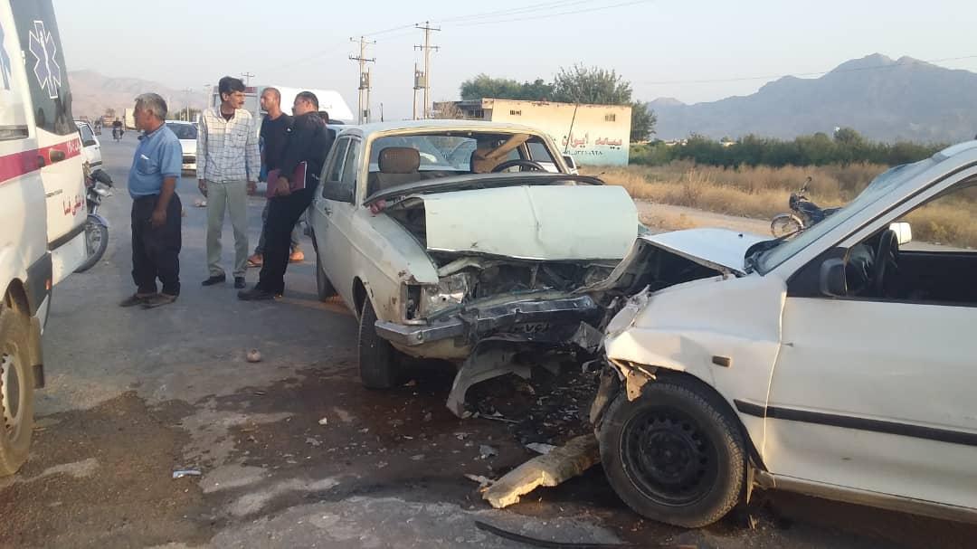 باشگاه خبرنگاران -۴ مصدوم در تصادف رانندگی فسا