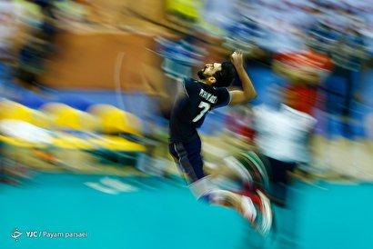 والیبال قهرمانی آسیا/ ایران ۱ - استرالیا ۳