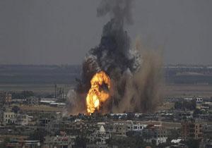 شنیده شدن صدای انفجار در شرق شهر خان یونس